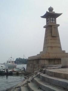 瀬戸内海に二つしか残っていない常夜灯